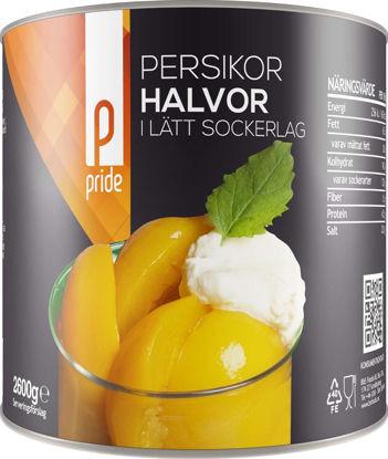 Picture of PERSIKOHALVOR 6X3KG      PRIDE