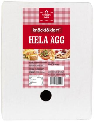 Picture of ÄGG HELA SVE 5L BIB STJÄRNÄGG