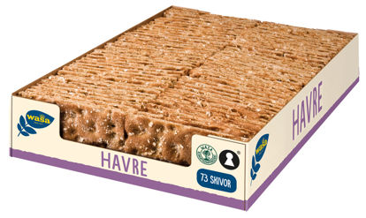 Picture of KNÄCKEBRÖD HAVRE S 3X1280G WAS