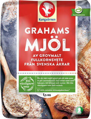 Picture of GRAHAMSMJÖL 6X1,5KG        K-Ö