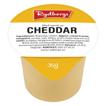 Picture of DRESSING DIPP CHEDDAR  25X35G