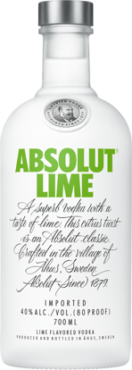 Picture of ABSOLUT LIME 40% 6X70CL