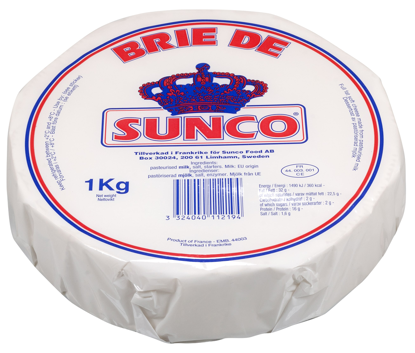 Picture of BRIE DE SUNCO 32% 4X1KG