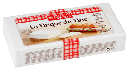 Picture of BRIE LA BRIQUE AVLÅNG 6X900G