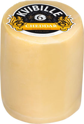 Picture of CHEDDAR 6M 32%5X2,7KG KVIBILLE