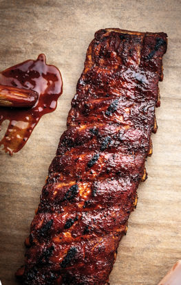 Picture of BBQ BABY BACK RIBS 10KG