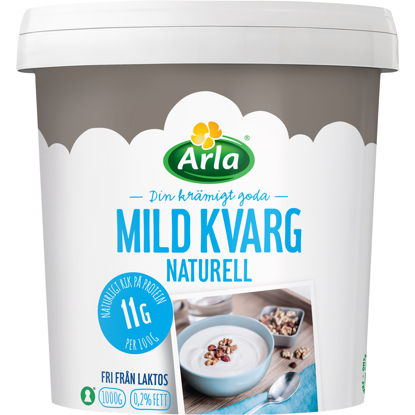Picture of KVARG MILD NATURELL LFRI 6X1KG