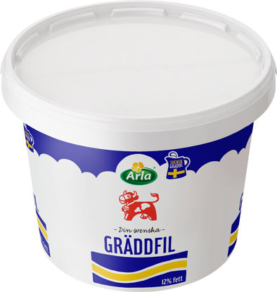 Picture of GRÄDDFIL 12% HINK 5L   ARLA KO