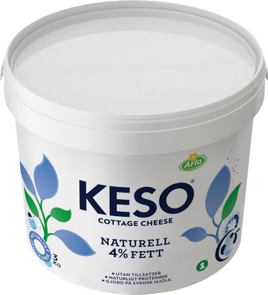 Picture of COTTAGE CHEESE 4% 3KG