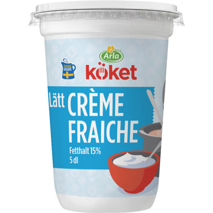 Picture of CREME FRAICHE LÄTT  8X0,5L ARL