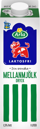 Picture of MJÖLK MELLAN LF 6X1L