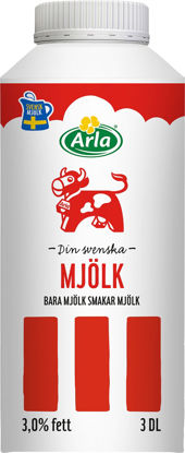Picture of MJÖLK STANDARD 3% 12X3DL