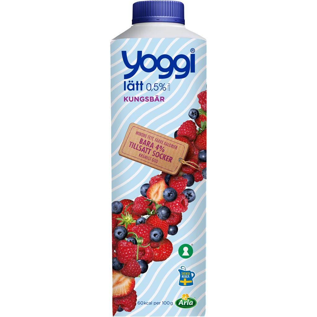 yoggi mindre socker