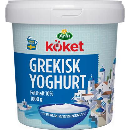 Picture of YOGHURT GREKISK 10% 6X1KG