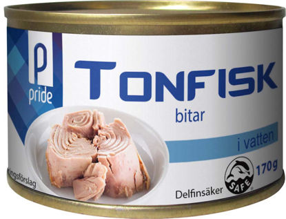 Picture of TONFISK I VATTEN 48X170G PRIDE