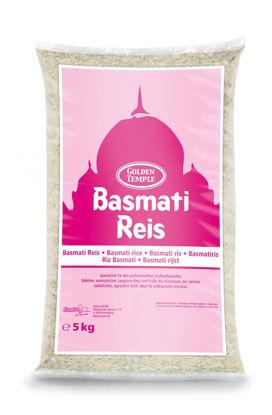 Picture of RIS BASMATI 5KG  GOLDEN TEMPLE
