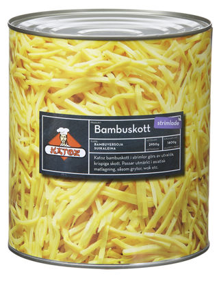 Picture of BAMBUSKOTT STRIMLADE 6X3KG KAT