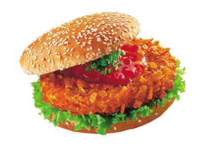 Picture of CRUNCHY CHIK´N BURGER 90G 6KG