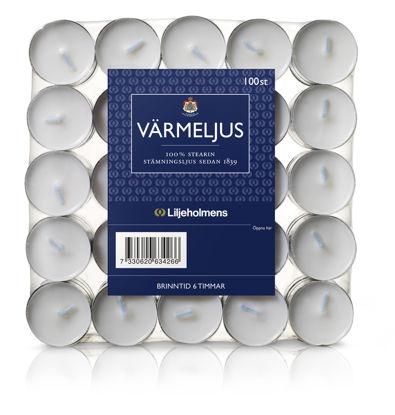 Picture of VÄRMELJUS STEARIN 6H 6X100ST