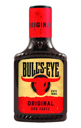 Picture of BBQ SAUCE BULLS EYE ORG 6X300G