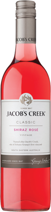 Picture of JACOBS CREEK SHIRAZ ROSE 6x75C