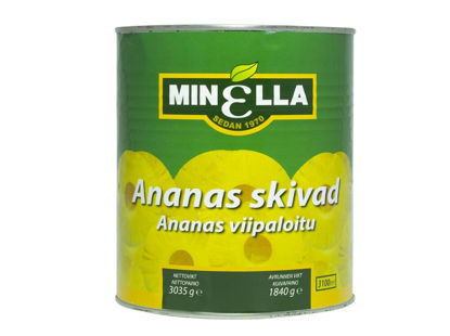 Picture of ANANAS I SKIVOR 6X3KG  MINELLA