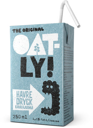 Picture of OATLY HAVREDR KALCIUM 18X250ML