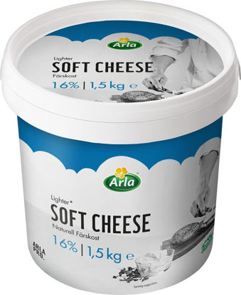 Picture of FÄRSKOST NATURELL 16% 4X1,5KG