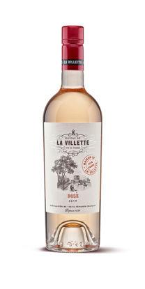 Picture of LA VILLETTE ROSE 6X75CL