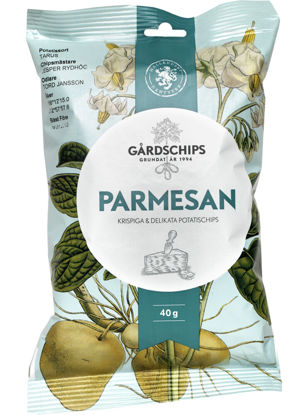Picture of CHIPS PARMESAN 18X40G